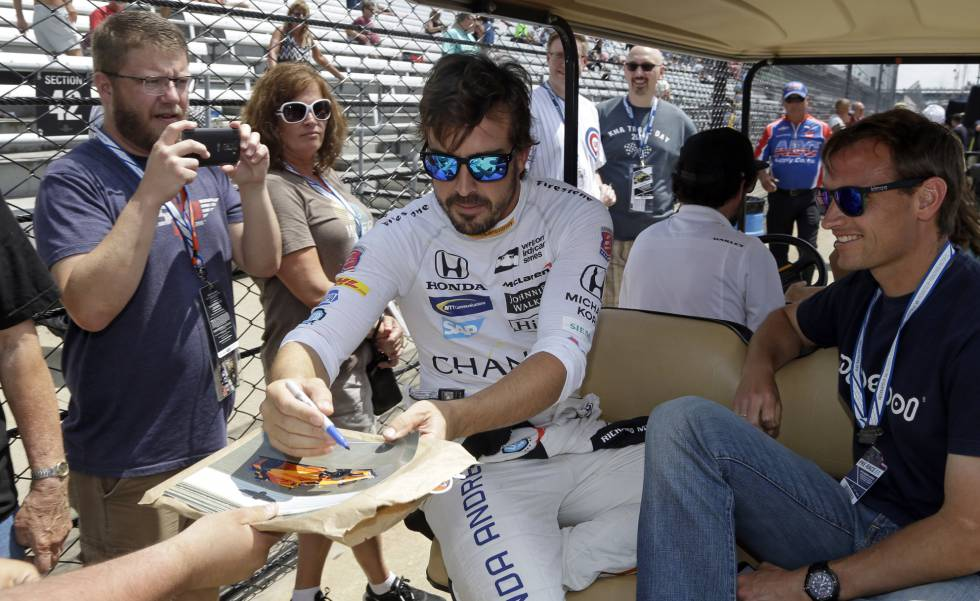 Alonso, en Indianapolis.