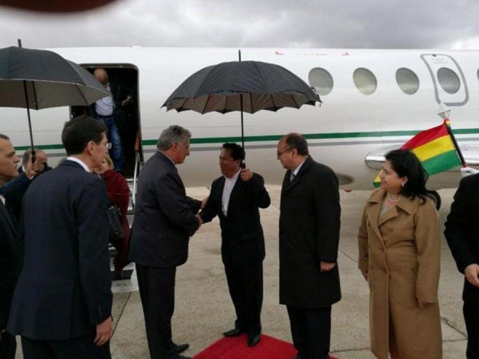 El vicepresidente cubano visitará en Bolivia el lugar donde ejecutaron al