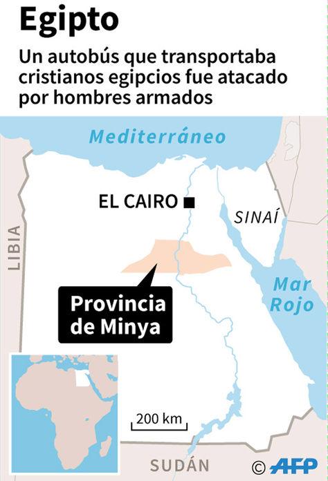 El lugar donde se registró el atentado. Fuente: AFP