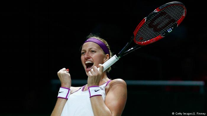 Petra Kvitova jubelt (Getty Images/J. Finney)
