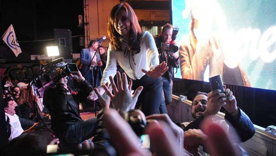 Regresión económica bajo Macri tema de elecciones: Cristina Kirchner