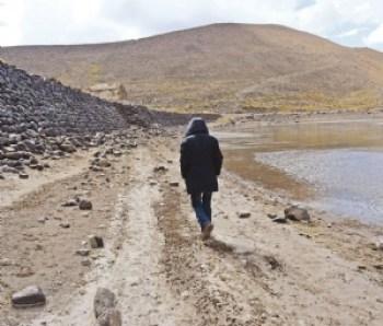 Potosí soporta siete meses sin agua con represas en crisis