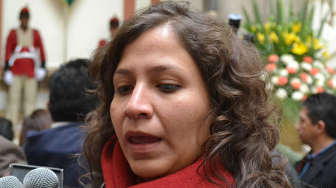 La ministra de Salud, Ariana Campero. Foto: ABI