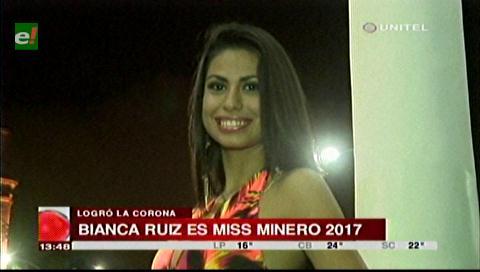 Eligieron a Miss Minero 2017