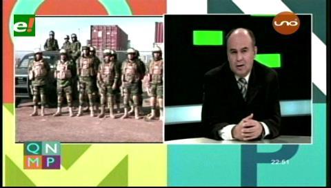 Bolivia creará el Comando Estratégico para luchar contra el contrabando