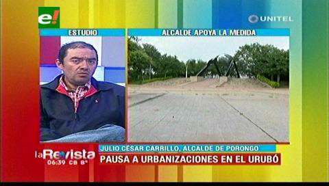 Alcalde de Porongo asegura que falta predisposición de Santa Cruz para construir un puente