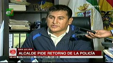 Alcalde de San Julián pide que la Policía vuelva, rige el silencio en el municipio