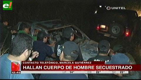 Buscan el cuerpo del empresario soyero que fue secuestrado