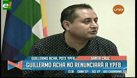 Presidente de YPFB anuncia que se presentará a declarar voluntariamente en el caso taladros