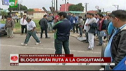 Transportistas anuncian bloqueo en la Chiquitanía por el estado de las carreteras
