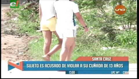 Sujeto es acusado de violar a su cuñada de 13 años