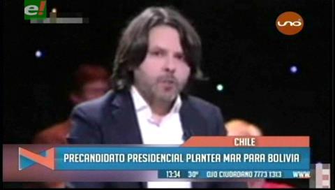 En Chile precandidato presidencial plantea mar para Bolivia