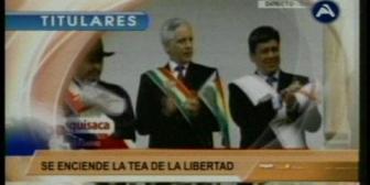Video titulares de noticias de TV – Bolivia, noche del jueves 25 de mayo de 2017