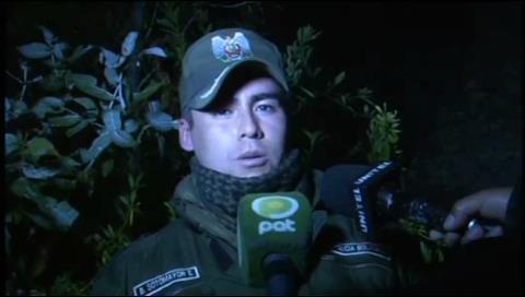 Dos menores de edad fueron empujadas por un barranco en La Paz