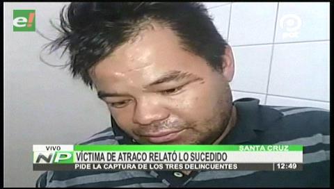 Santa Cruz: Un hombre fue atracado y apuñalado