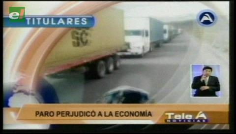 Video titulares de noticias de TV – Bolivia, noche del martes 30 de mayo de 2017