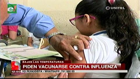 Sedes pide a la población cruceña vacunarse contra la influenza