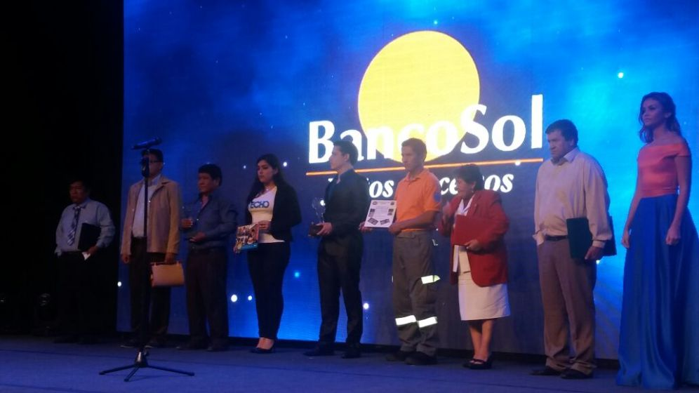 Instituciones sociales que reconocieron a Banco Sol por su solidaridad