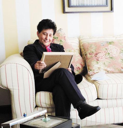 Mónica Soriano. Foto: Liliana Aguirre