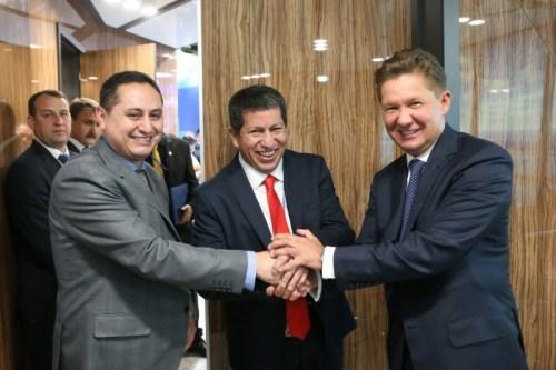 Gazprom tostimulate dynamic growth ofBolivia'senergy market