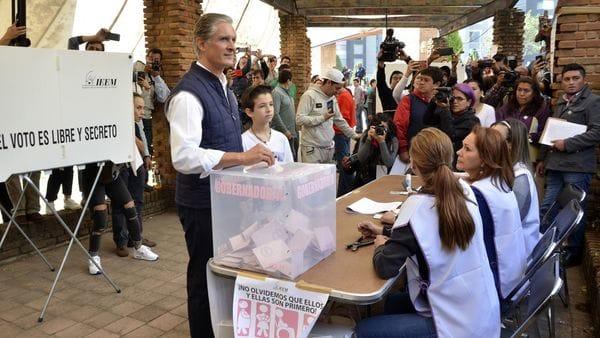 Cerca de 20 millones de mexicanos están llamados a votar (AFP)