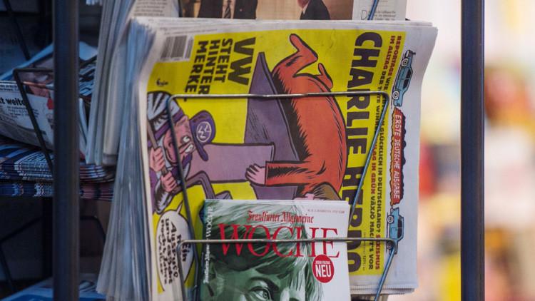 Charlie Hebdo ilustró a Theresa May decapitada en su última edición
