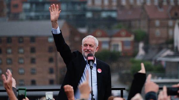 Jeremy Corbyn sería uno de los ganadores de la elección (Getty)