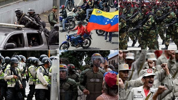 Los seis ejércitos con los que cuenta el chavismo