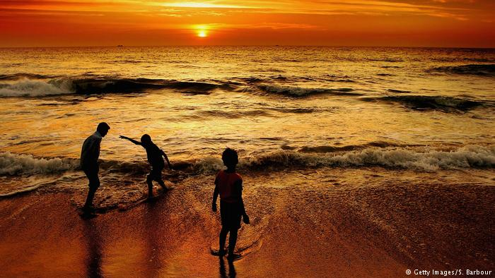 Playa en Sri Lanka.