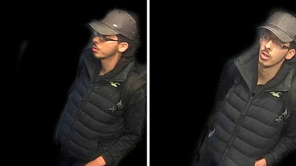 Salman Abedi antes del ataque de Manchester (Greater Manchester police)