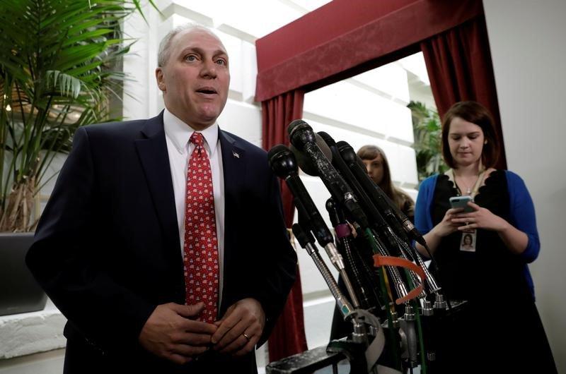 Imagen de archivo del legislador republicano Steve Scalise (Foto: Reuters)