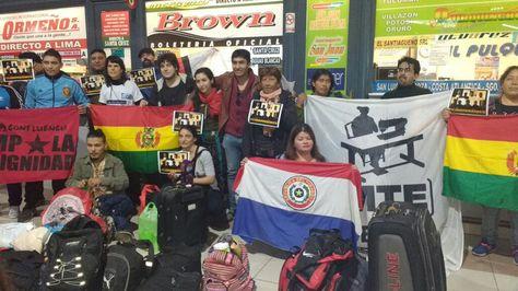 Representantes de organizaciones argentinas partieron rumbo a Cochabamba para participar de la Conferencia de los Pueblos.
