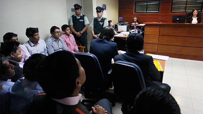 Nueve bolivianos detenidos en Chile ratificarán su inocencia en un juicio abreviado