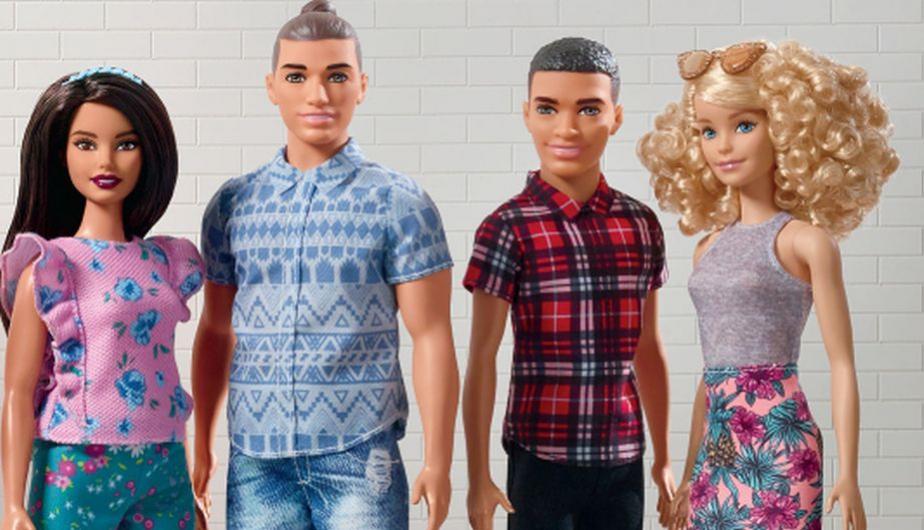 La marca evoluciona la línea Barbie Fashionistas® para presentar dos nuevos tipos de cuerpo para Ken. (Foto: Mattel)
