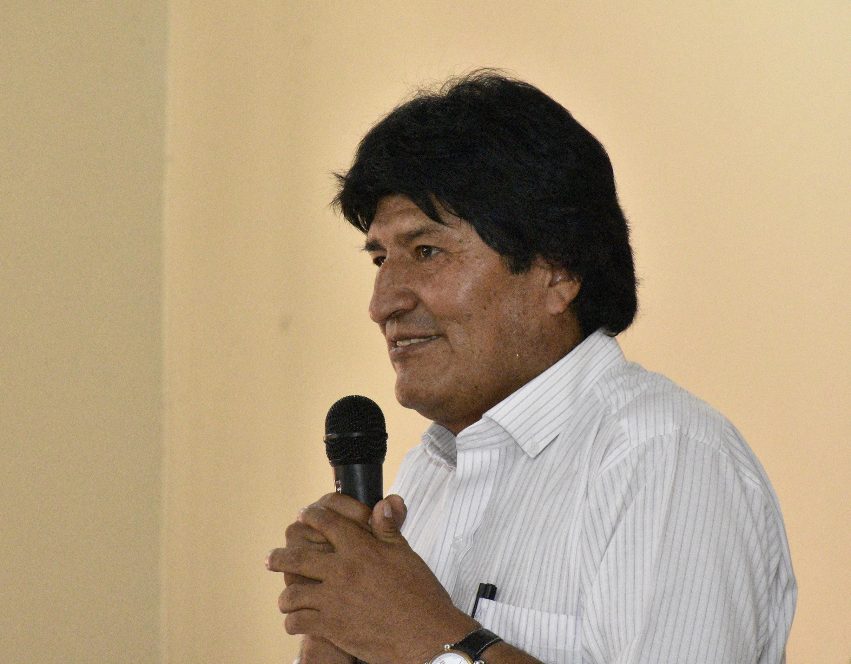 Evo lamenta que opositores no entiendan la declaración de mártires a los 9 bolivianos