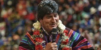 """Evo Morales quiere saber """"dónde hay nuevos pobres"""""""