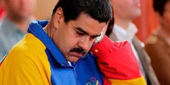 """Maduro lo cantó clarito """"Yo se bien que estoy afuera"""""""