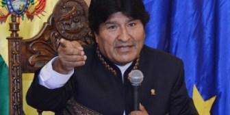 Morales responde a Piñera que no se callará ante las oligarquías