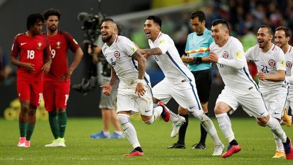 Chile vs. Portugal tendrá árbitros iraníes