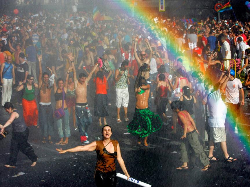 España: Miles de personas marchan en Madrid por el Orgullo Gay [FOTOS]
