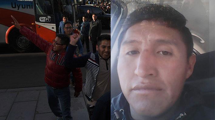 """Exdiputado del MAS dice que Choque y los otros 8 """"mártires"""" extorsionaban a chuteros"""