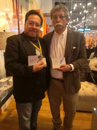 Gabriel Chávez y Homero Carvalho