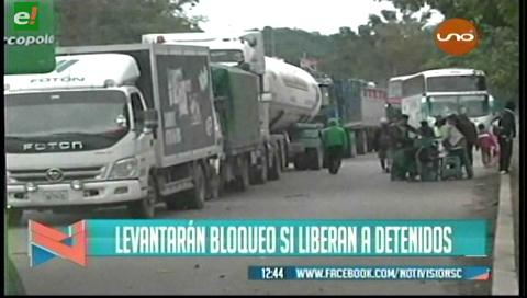 Video titulares de noticias de TV – Bolivia, mediodía del jueves 8 de junio de 2017