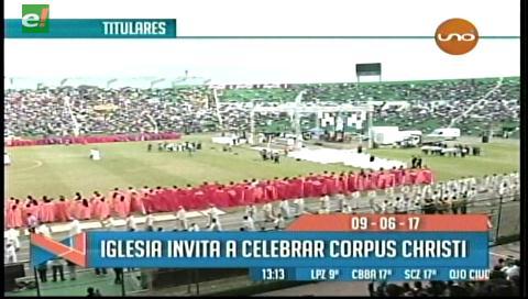 Video titulares de noticias de TV – Bolivia, mediodía del viernes 9 de junio de 2017