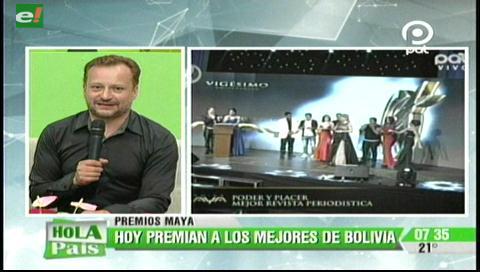 Hoy se entregan los premios Maya