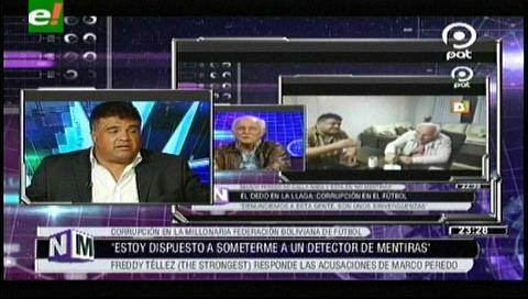 """Freddy Tellez: """"Tengo temor, todos los que se opusieron a Peredo y Rocha están presos"""""""