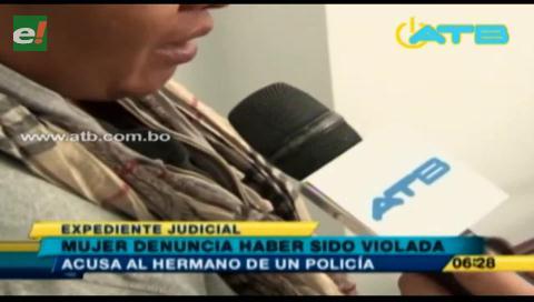 Cochabamba: Mujer denuncia haber sido violada por el hermano de un policía