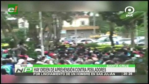 Buscados por asesinato: Orden de captura para linchadores de San Julián