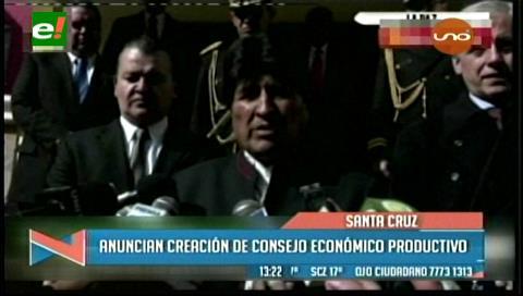 Gobierno y empresarios proyectan un Consejo Económico Productivo