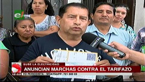 Fejuve anuncia movilizaciones contra el alza de la tarifa eléctrica